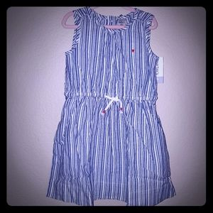 Carters girls striped dress